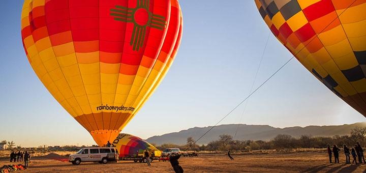 Скидка 45% на полет на воздушном шаре от компании «Впечатления»