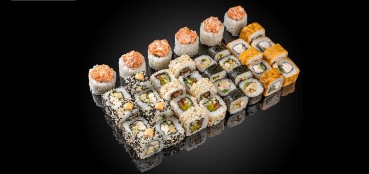 Скидка 50% на суши-сеты в сети магазинов «Суши Сет»