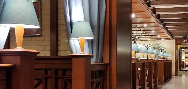 Скидка 50% на меню кухни в ресторане «Джузеппе» на Сечевых Стрельцов