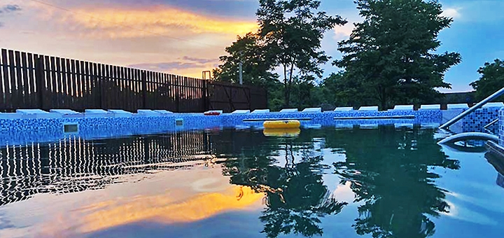 От 3 дней отдыха в июне с посещением бассейна на базе отдыха «Fiesta» в Солотвино