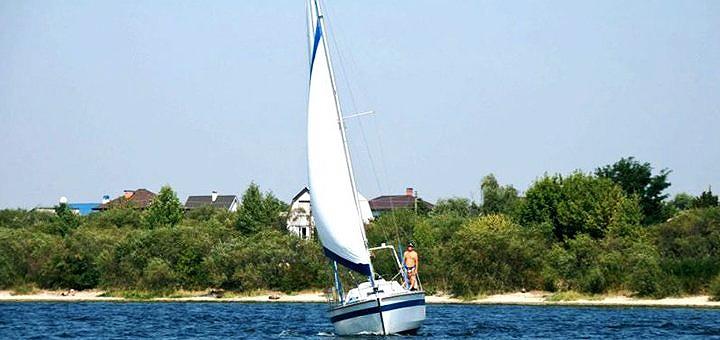 Скидка на двухчасовую прогулку по Днепру на парусной яхте от «Parusniki»
