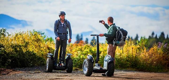 Скидка до 50% на прогулки на электросамокатах Segway по Межигорью от «Green Wheels»