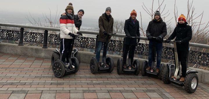 Прогулка по Киеву на Сигвее от компании «Green Wheels»