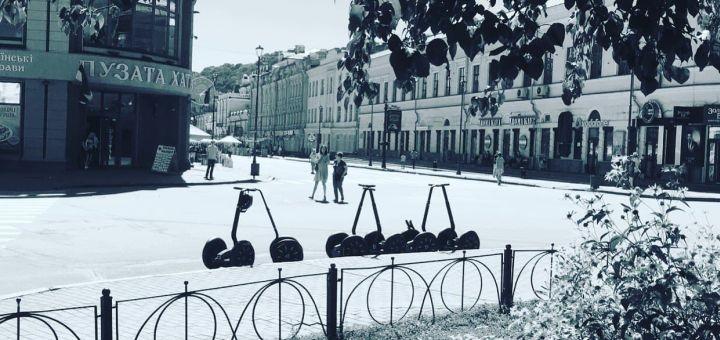 Романтическая прогулка по Киеву на Сигвеях от компании «Green Wheels»