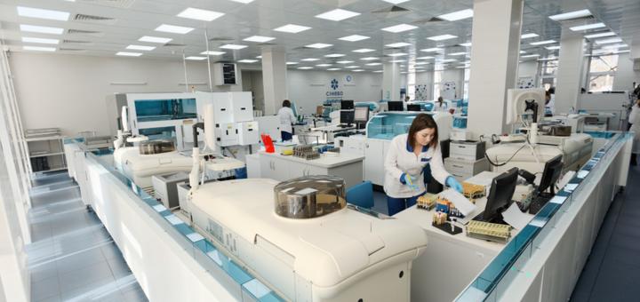 Комплексные анализы в сети медицинских лабораторий «Синэво»