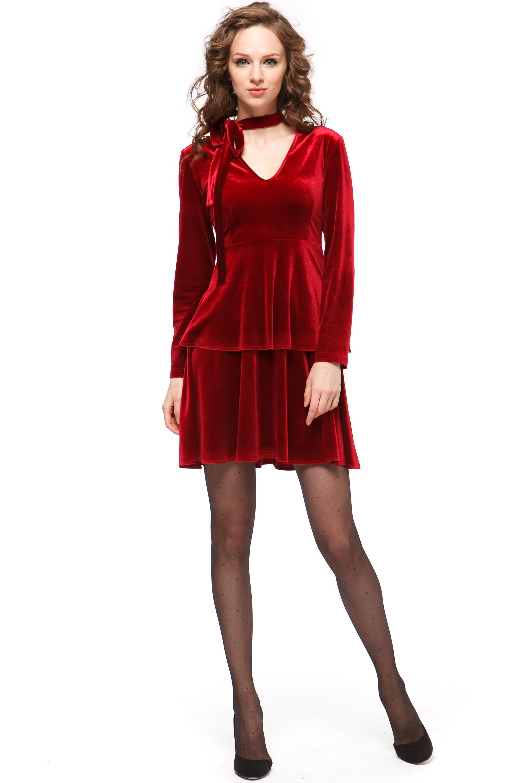 доставки зависит красные бархатные платья фото этот